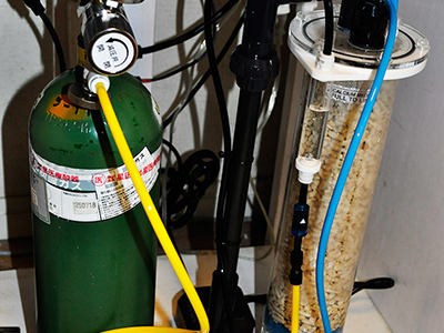 スリークォーターカルシウムリアクター設置