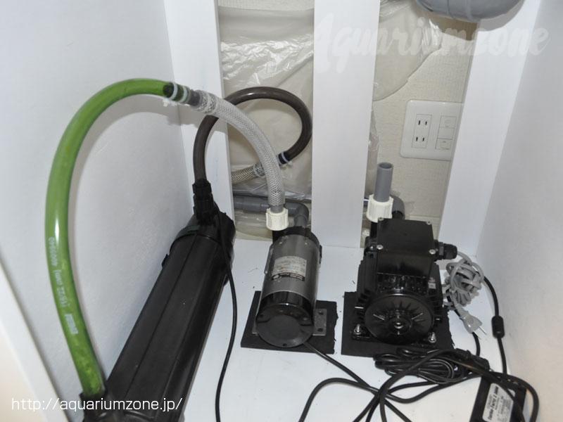メルカリで販売した中古ポンプと殺菌灯
