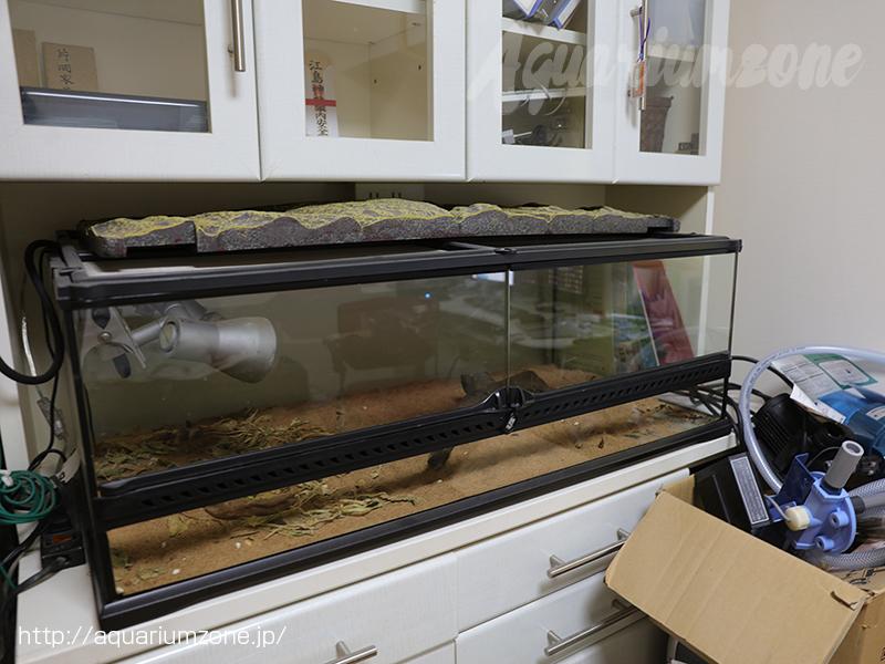メルカリで販売した中古爬虫類ゲージとメタハラ