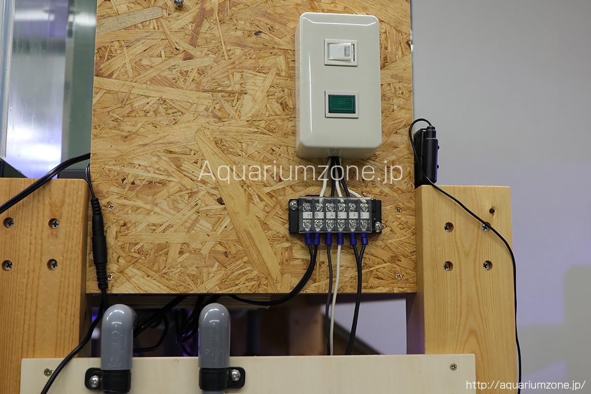 シンプルな電源リレーボックス