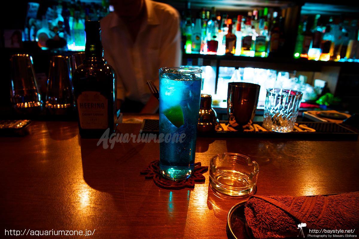 アロワナや古代魚を観賞しながらお酒が飲める18BAR