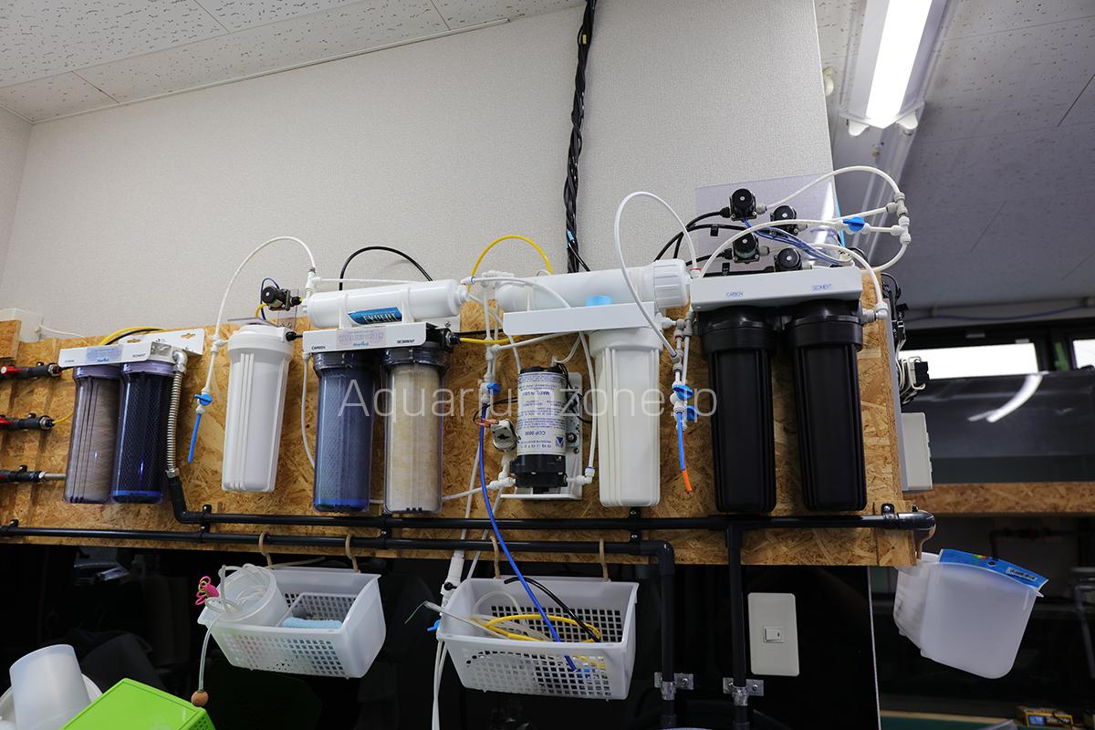 アクアリウムの水を作る浄水器って何がいいの?