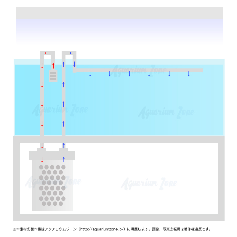 外部濾過水槽の特徴