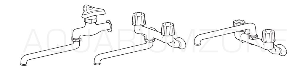 先端が膨らんだ蛇口の場合(取り付けられる水栓形状)