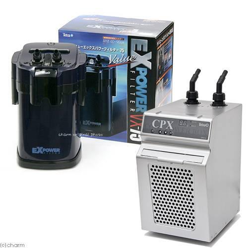 CPX-75バリューエックスパワーフィルターVX-75外部フィルター